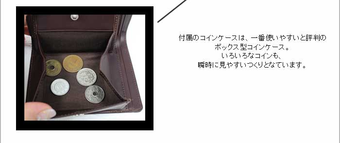 ボックス型コインケース