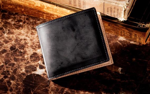 コードバン 2つ折り財布