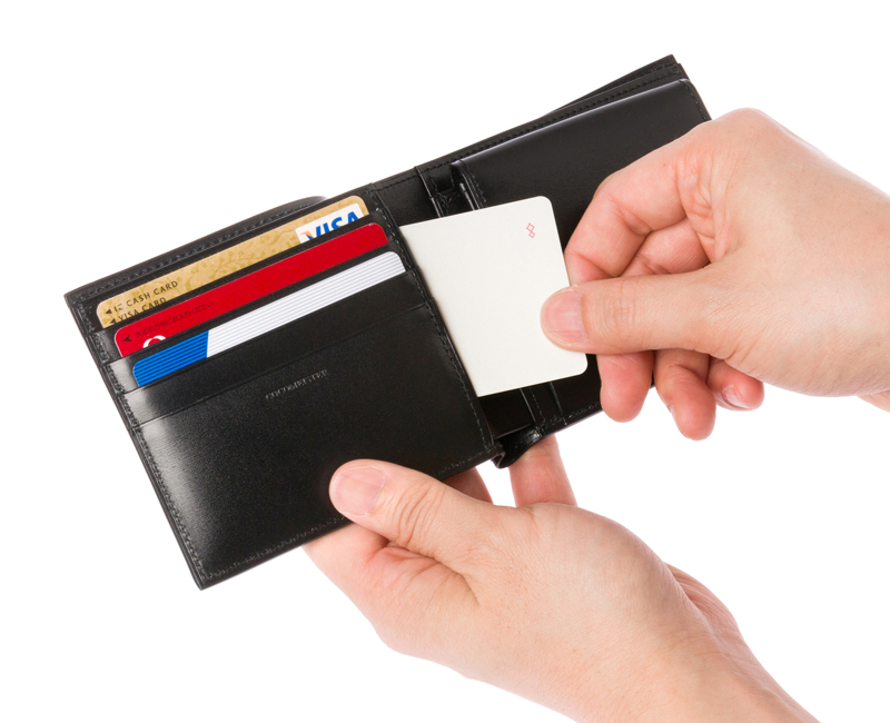 隠しカード入れ