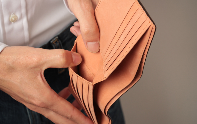 カードポケットの裏