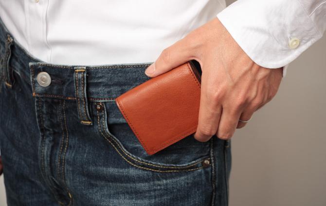 ポケットへ