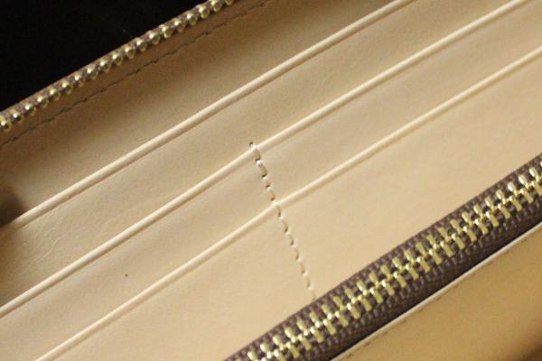内側の縫製