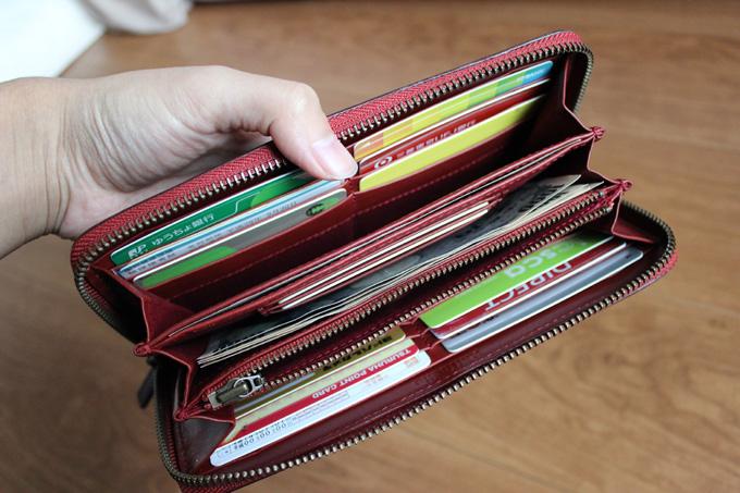 ラファエロ長財布の内装