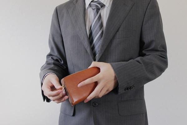 財布ファスナー