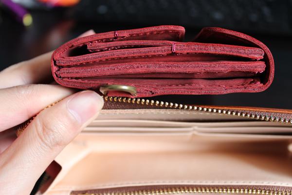 ココマイスターの財布同士を比べてみた