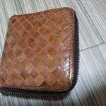 ホークカンパニーの革財布