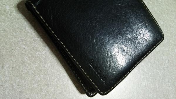 ポールスミスの二つ折り財布