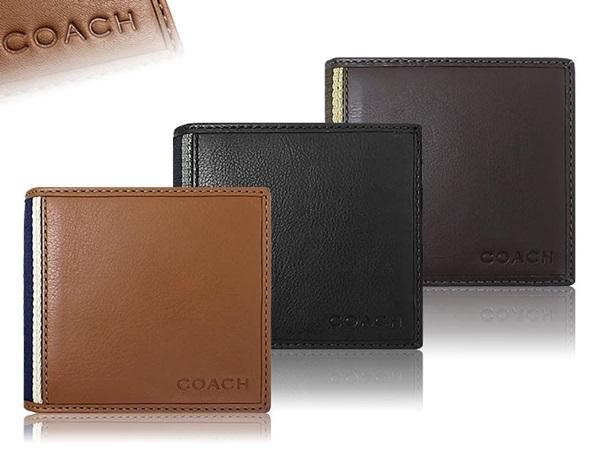 コーチ二つ折り財布