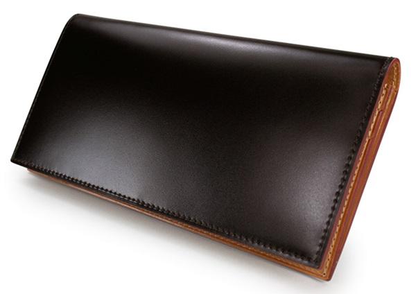 ガンゾコードバン長財布