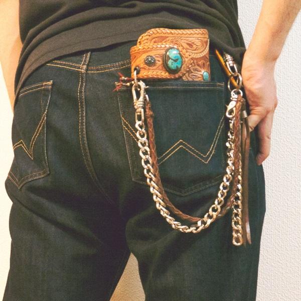 後ろポケットに財布