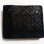 印伝二つ折り財布