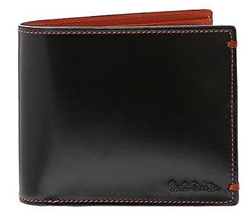 ポールスミスコードバン二つ折り財布