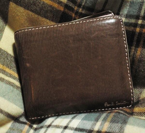 ポールスミス二つ折り財布