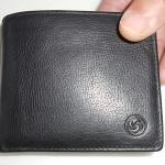 サムソナイト二つ折り財布