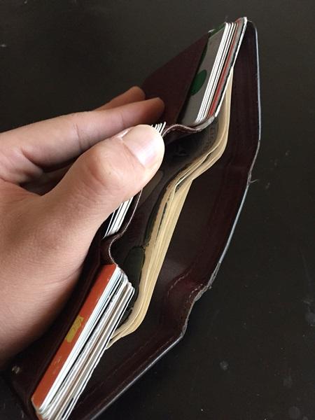 カードが沢山入る