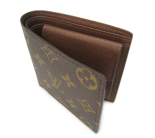 ヴィトンモノグラム二つ折り財布