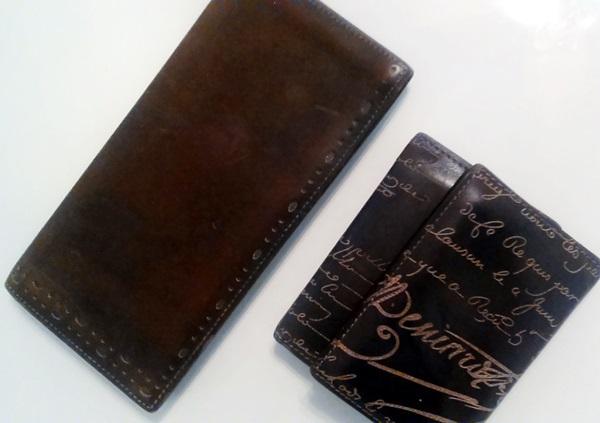 ベルルッティ革財布