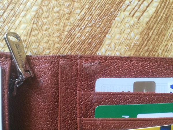 コムサデモード長財布の残念な所
