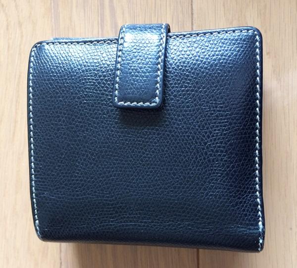 コンパクトなロエベの財布