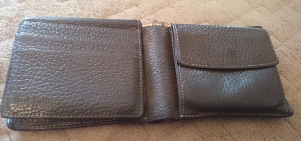 ポールスミス二つ折り財布内装