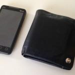 シップスの二つ折り財布