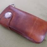 神戸ハーバーランドにあるSUNNY BLESSで購入したsunsの革財布