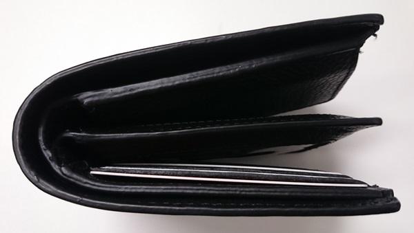 分厚くなった財布