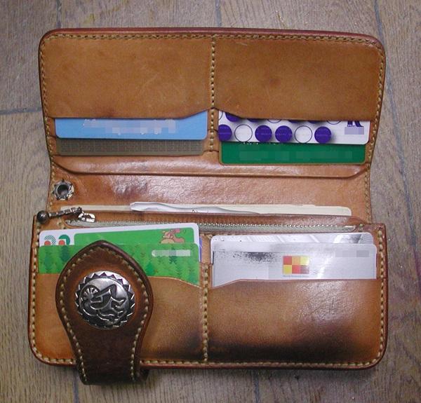レザークラフト優の財布
