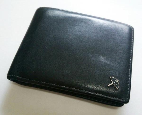 アーノルドパーマー牛革二つ折り財布