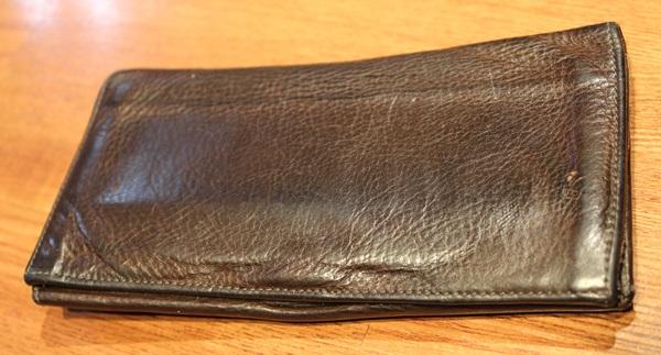 4年使ったイルビゾンテの財布