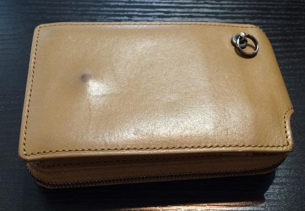 ジャムホームメイドの革財布