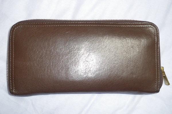 ポーター茶色の長財布