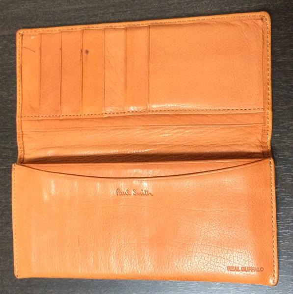 実用的な財布の内部