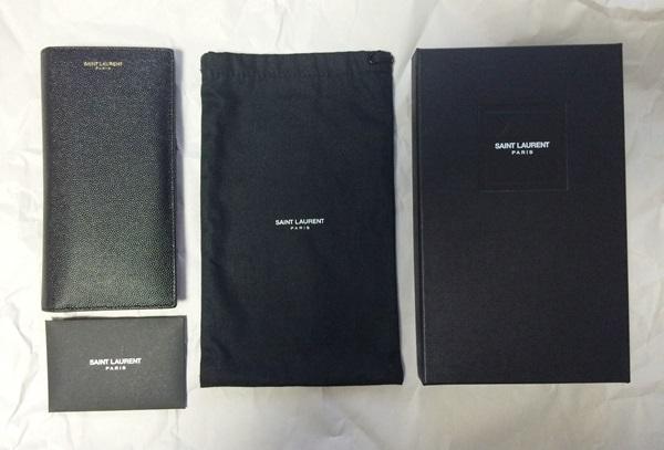サンローラン長財布の袋や箱