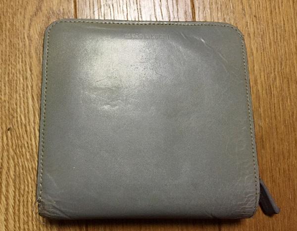 タケオキクチ二つ折り財布