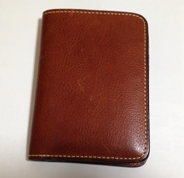 土屋鞄二つ折り財布