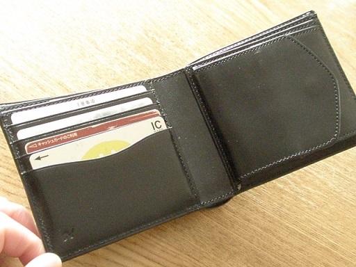 誕生日プレゼントのヴェオルコードバン財布