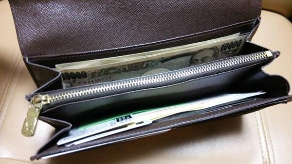 4年使ったとは思えないヴィトンの財布