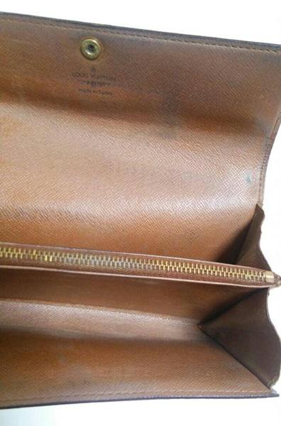 ヴィトン長財布の内部