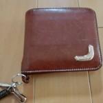 アリアニの二つ折り財布