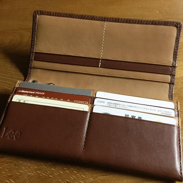 Lee財布の機能性