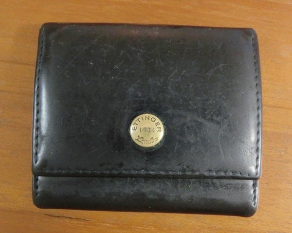 三つ折り財布エッティンガー