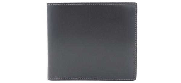 濱野ブライドルレザー二つ折り財布