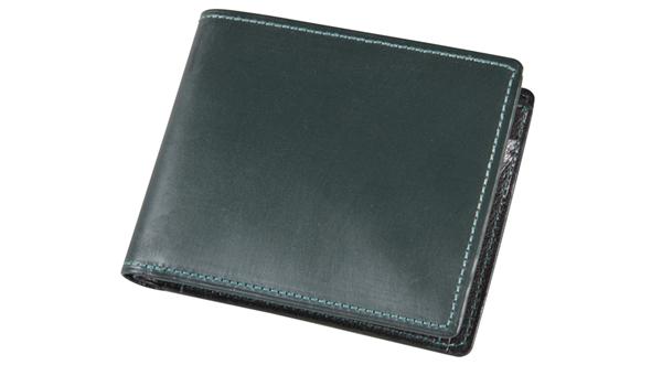 ソメス ブライドルレザー二つ折り財布