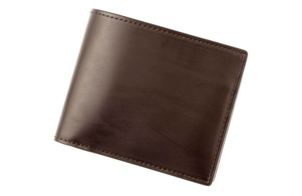 ココマイスターコードバン二つ折り財布