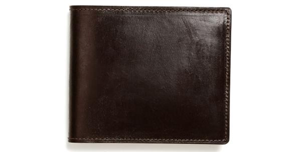 土屋鞄ブライドルレザー二つ折り財布