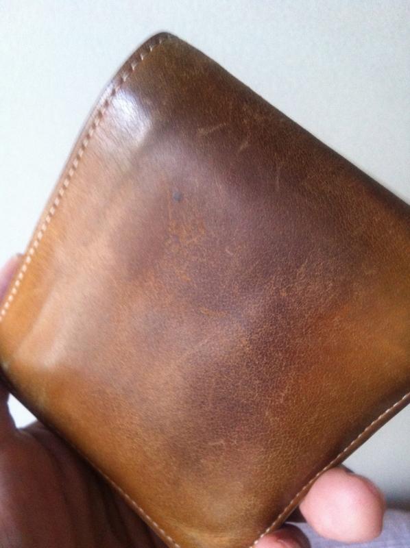 何年使ったか分からない無印の財布