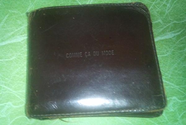 コムサデモード二つ折り財布