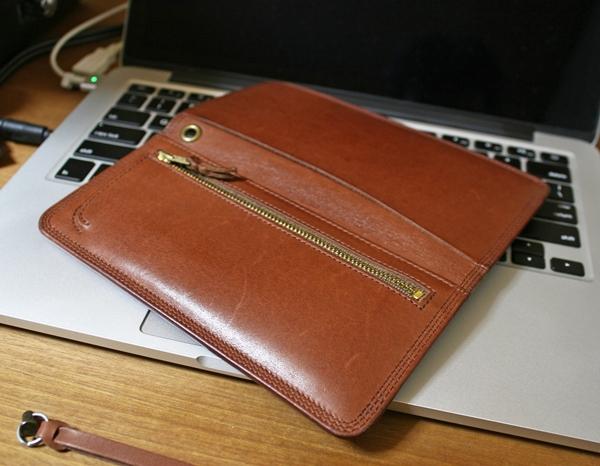 ブラウンのポーター長財布