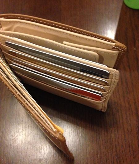 3980円とは思えない財布